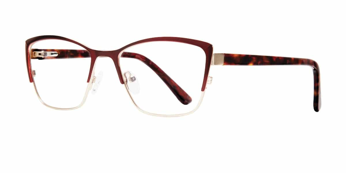 Serafina Eyewear - Cali, Burgundy