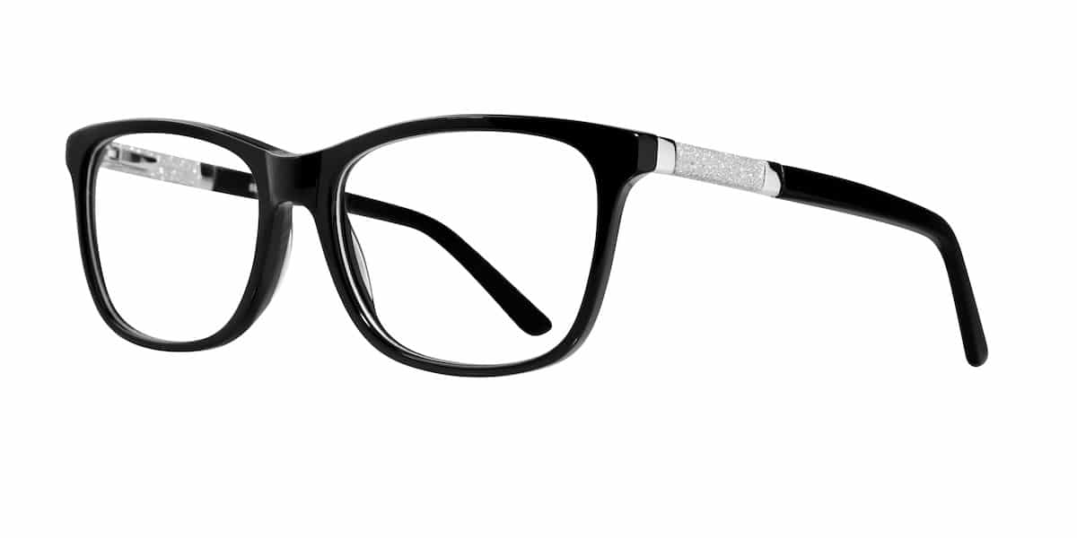 Serafina Eyewear - Hope, Black Silver