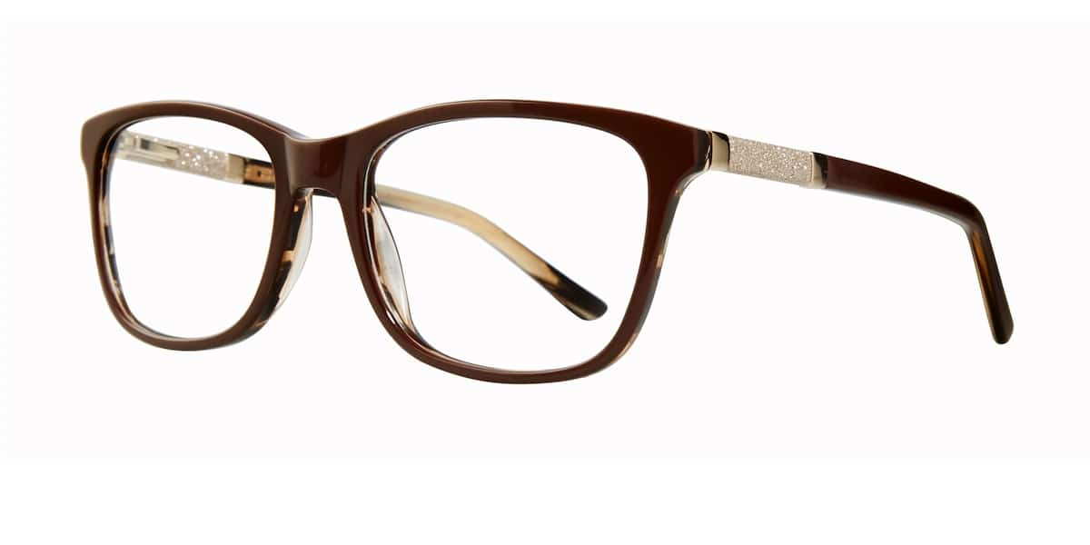 Serafina Eyewear - Hope, Brown Gold