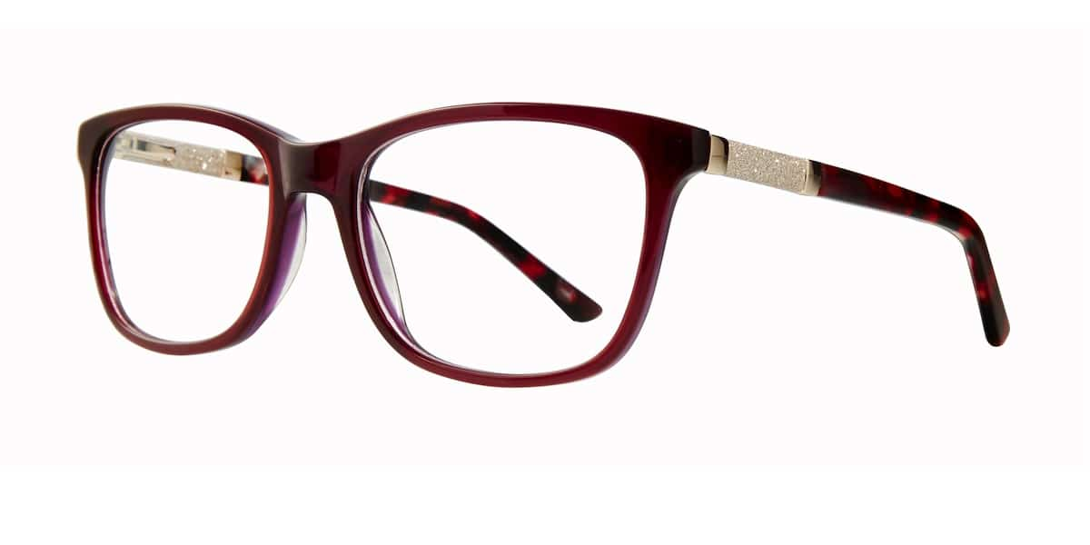 Serafina Eyewear - Hope, Burgundy Gold