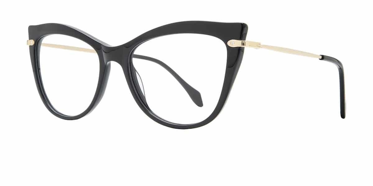 Serafina Eyewear - Susan - Black