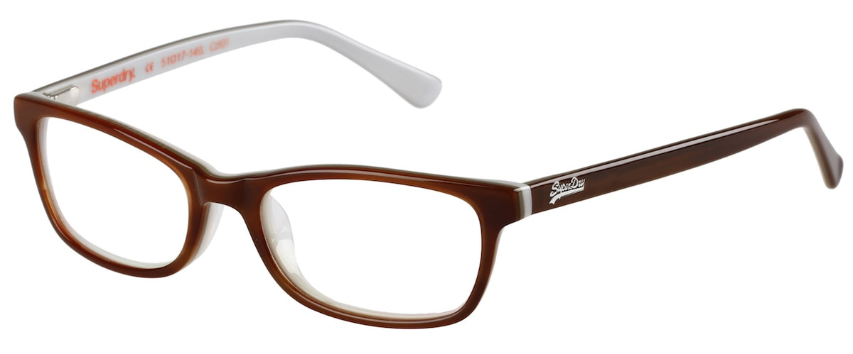 Superdry Ashleigh - 101 Gloss Brown Horn