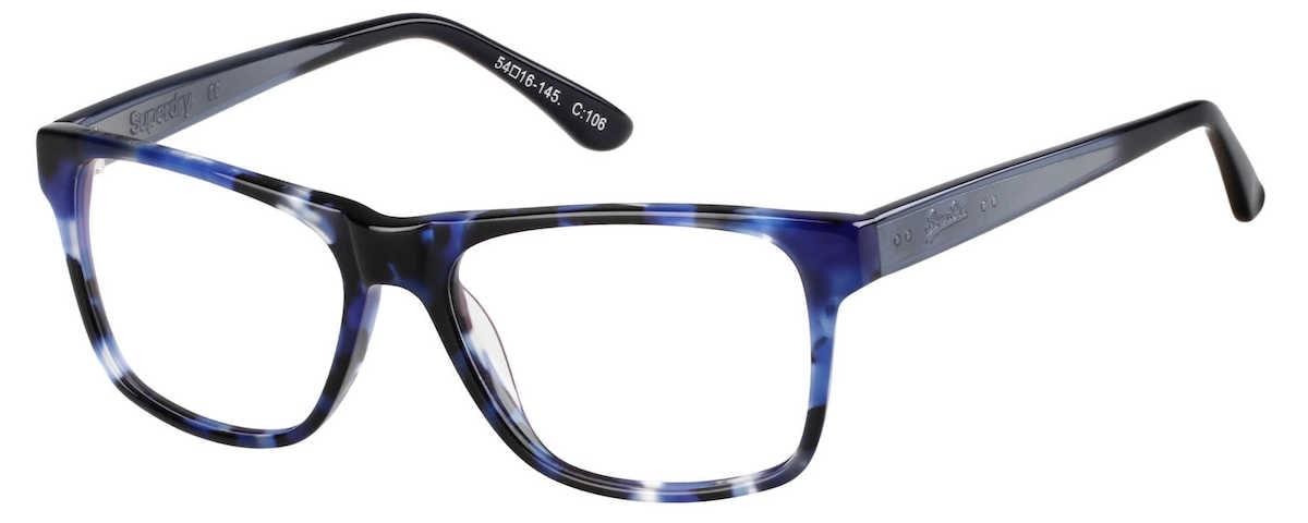 Superdry Avery - 106 Matte Blue Tortoise