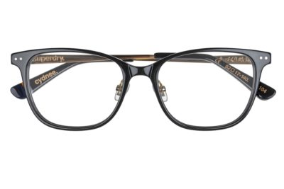 Superdry Cydnee 104 - Gloss Black / Gold - Front