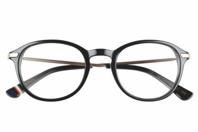 Superdry Frankie 104 - Gloss Black / Gold - Front