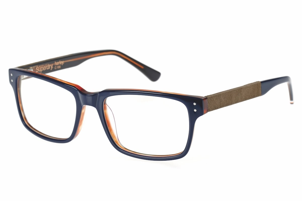 Superdry Harley 106 - Gloss Navy / Amber / Brown