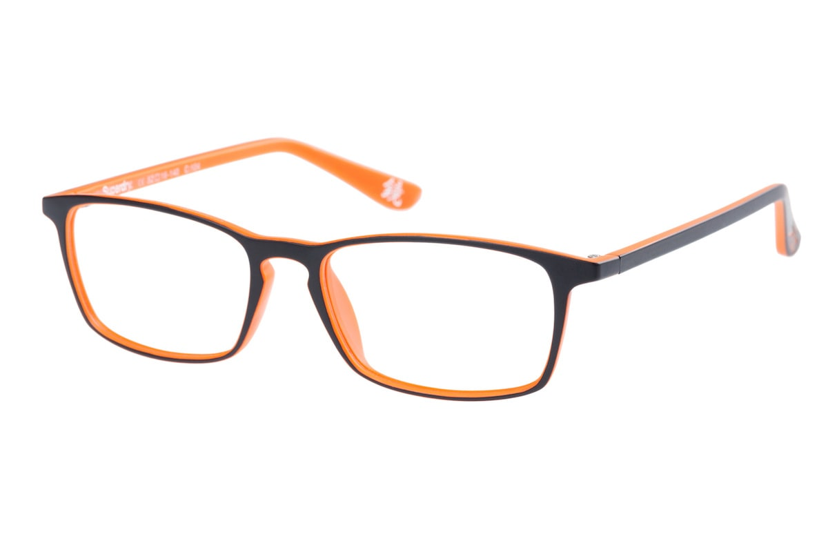 Superdry Hikaru 104 - Matte Black / Orange