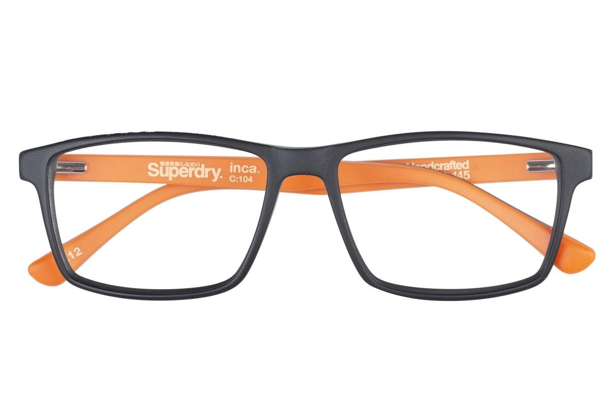 Superdry Inca 104 - Black / Orange - Front