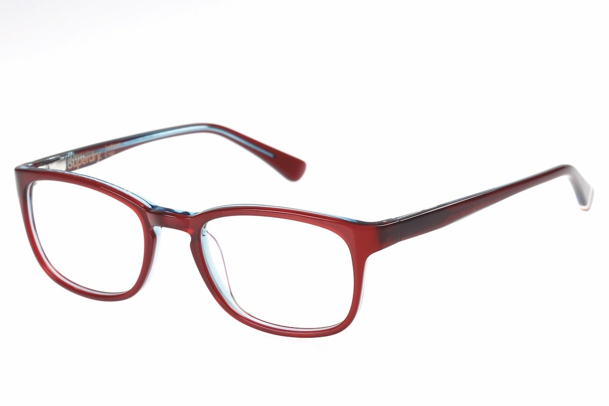Superdry Judson 162 - Gloss Burgundy / Blue
