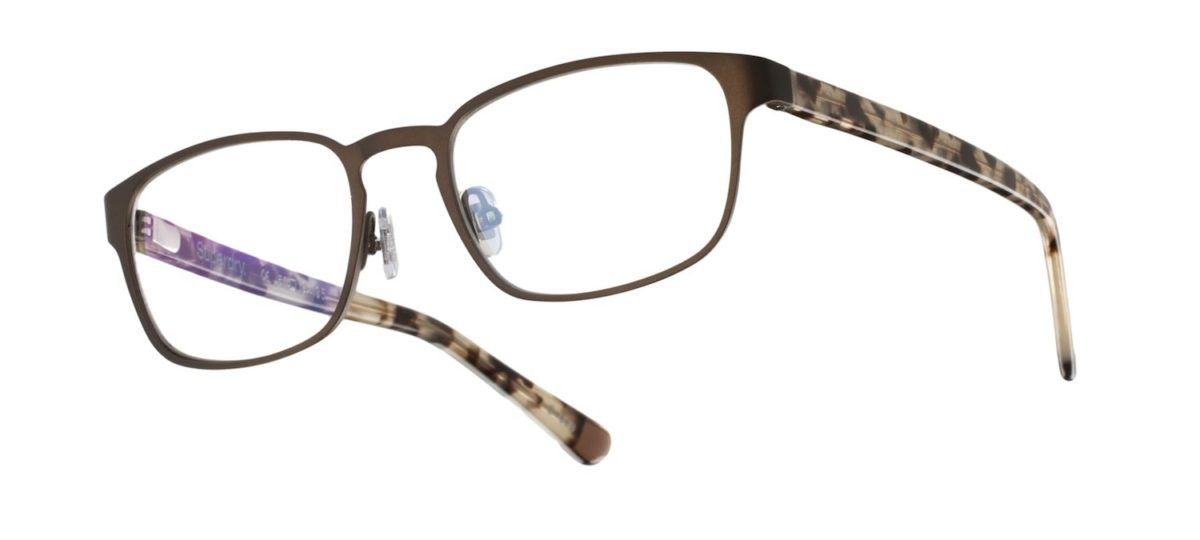 Superdry Juki - Matte Brown 003 (Painted Matte Brown / White Leopard)