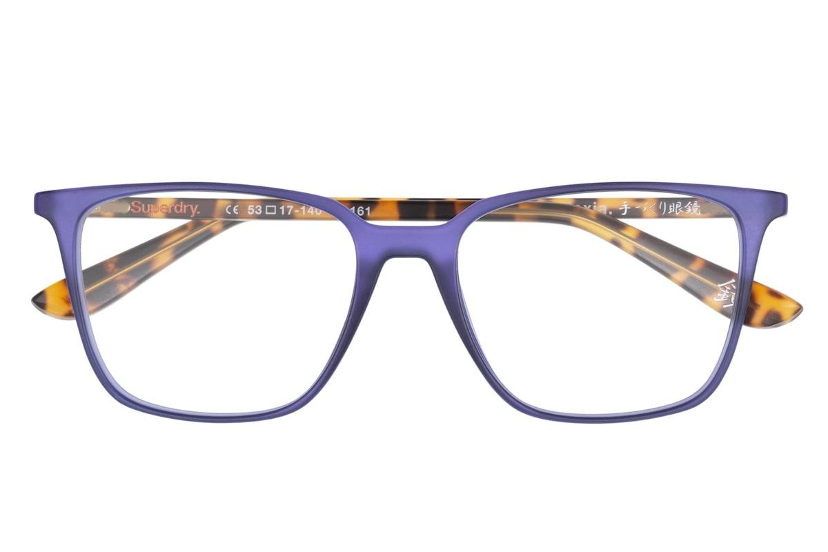 Superdry Lexia 161 - Matte Purple / Tortoise - Front