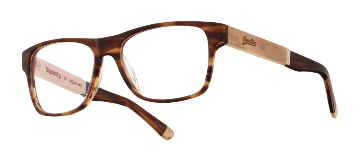 Superdry Oxley - 103 Gloss Brown Horn