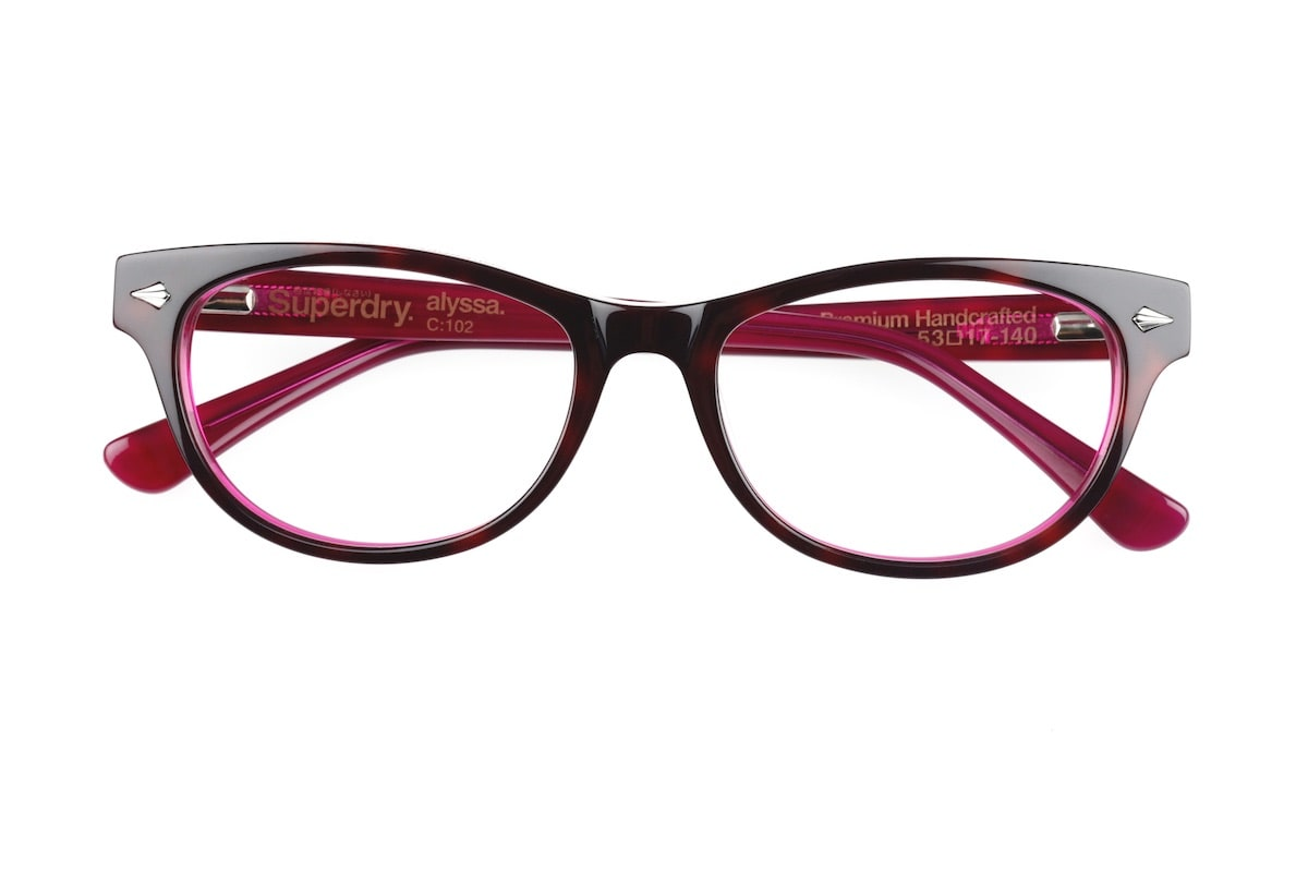 Superdry Alyssa 102 - Gloss Tortoise / Pink - Front