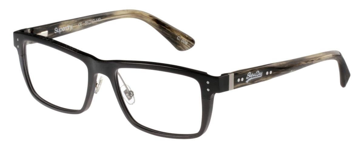 Superdry Foundry 008 - Matte Grey Horn