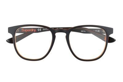 Superdry Uni 104 - Black / Amber - Front