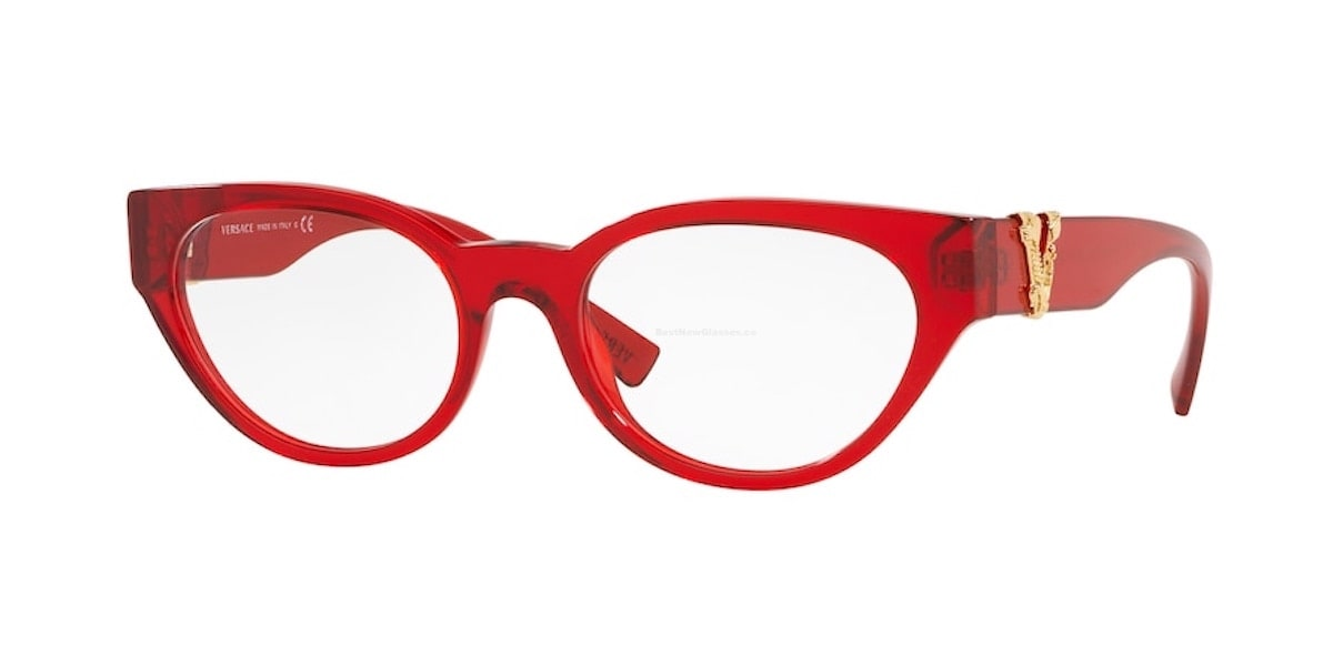 Versace VE3282 5280 - Transparent Red