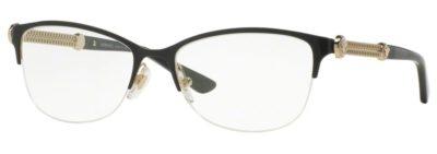 Versace VE1228 - 1291 Black / Pale Gold
