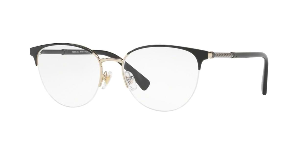 Versace VE1247 1252 - Black / Pale Gold