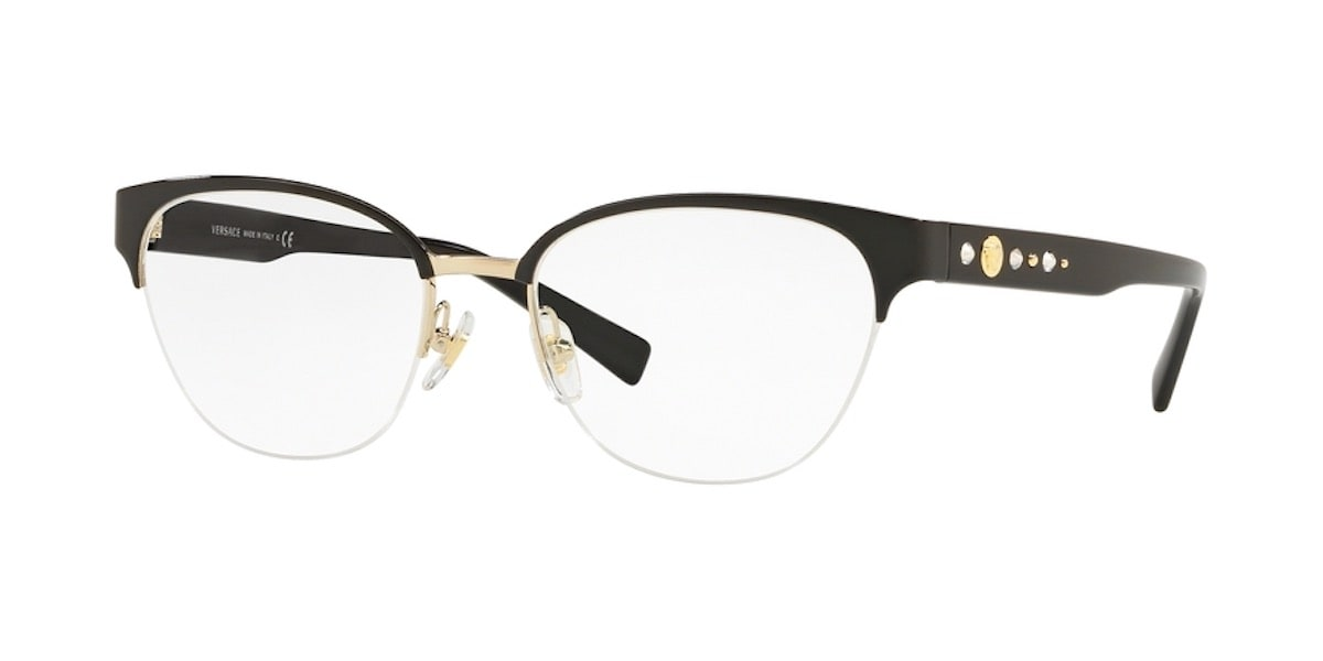 Versace VE1255B 1433 - Black / Gold