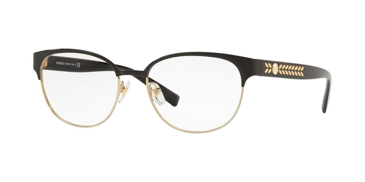 Versace VE1256 1371 - Black / Pale Gold