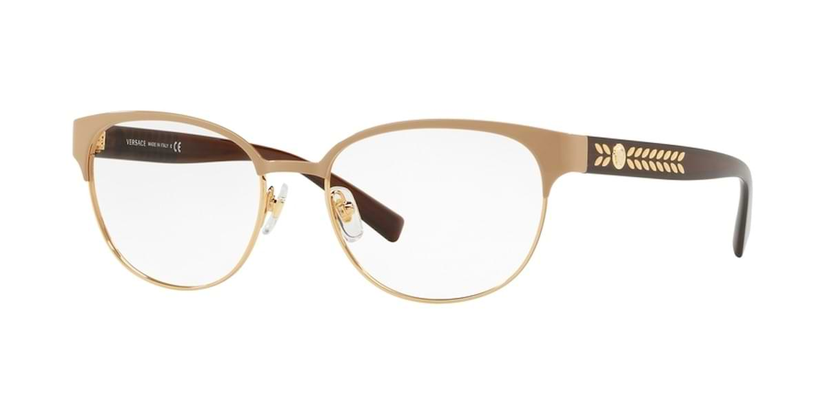 Versace VE1256 1434 - Brown / Pale Gold