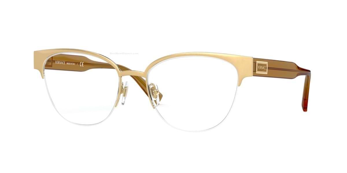 Versace VE1265 1410 - Matte Gold / Gold