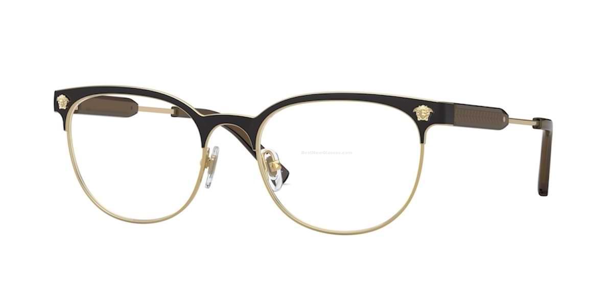 Versace VE1268 1261 - Matte Black / Gold