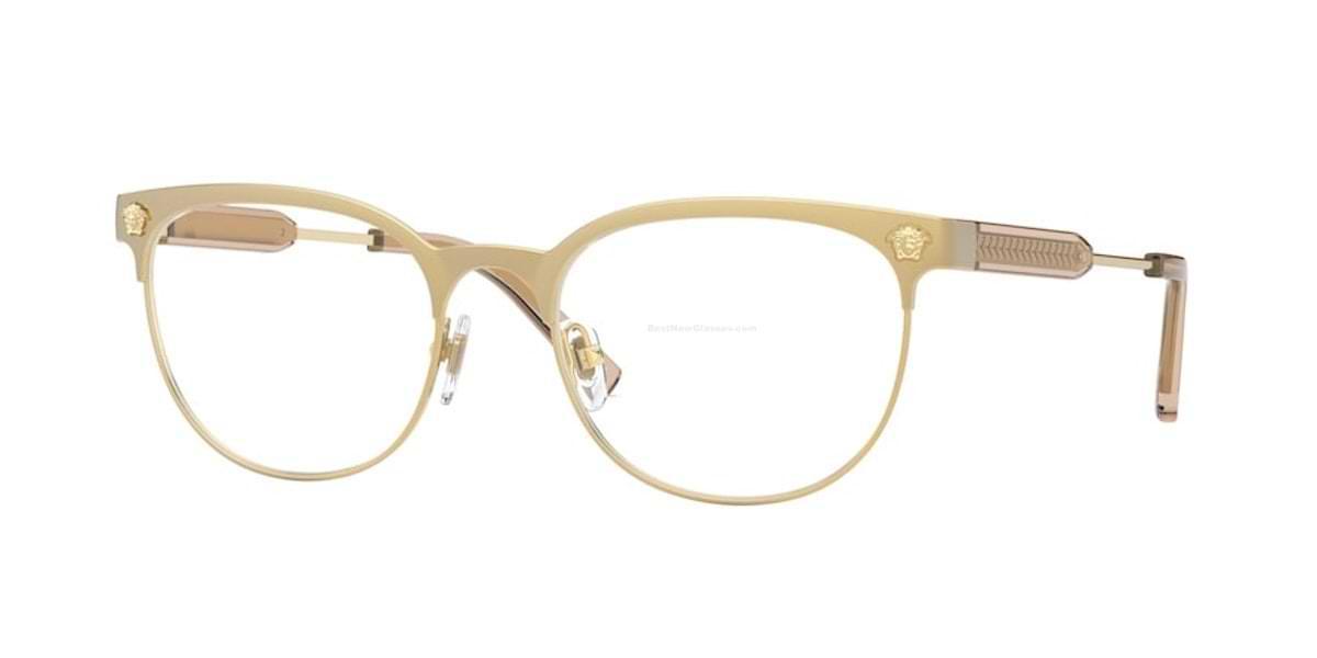 Versace VE1268 1465 - Matte Brown / Gold