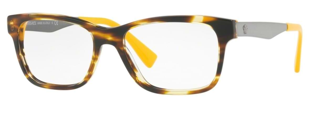 Versace VE3245 - 5236 Striped Havana / Yellow