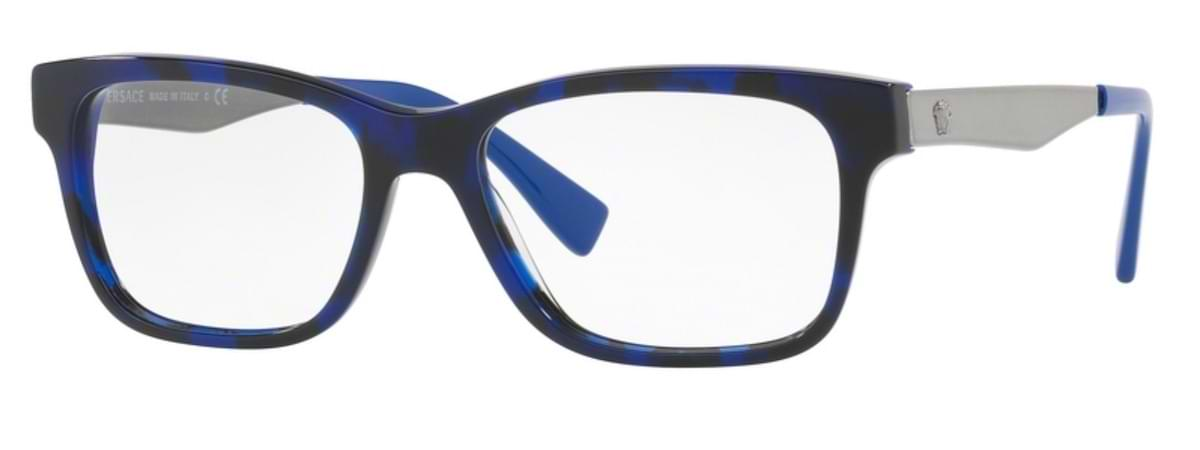 Versace VE3245 - 5237 Blue Havana / Electric Blue