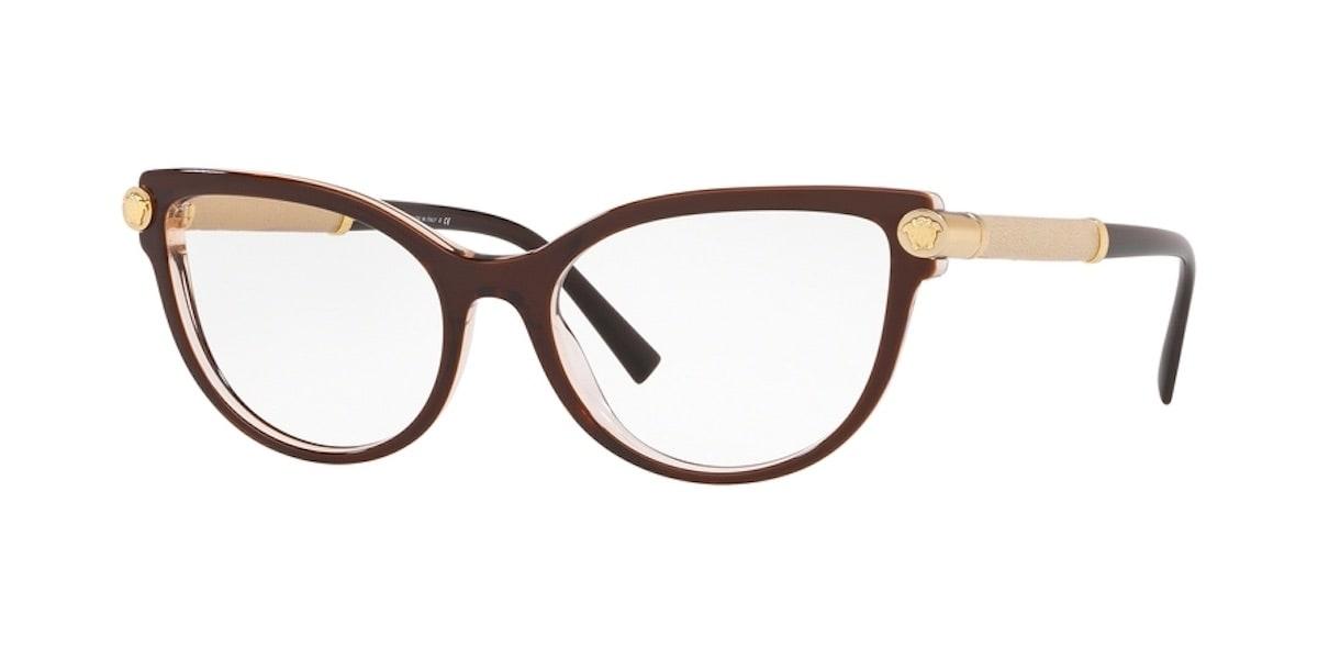 Versace VE3270Q 5300 - Top Brown / Transparent