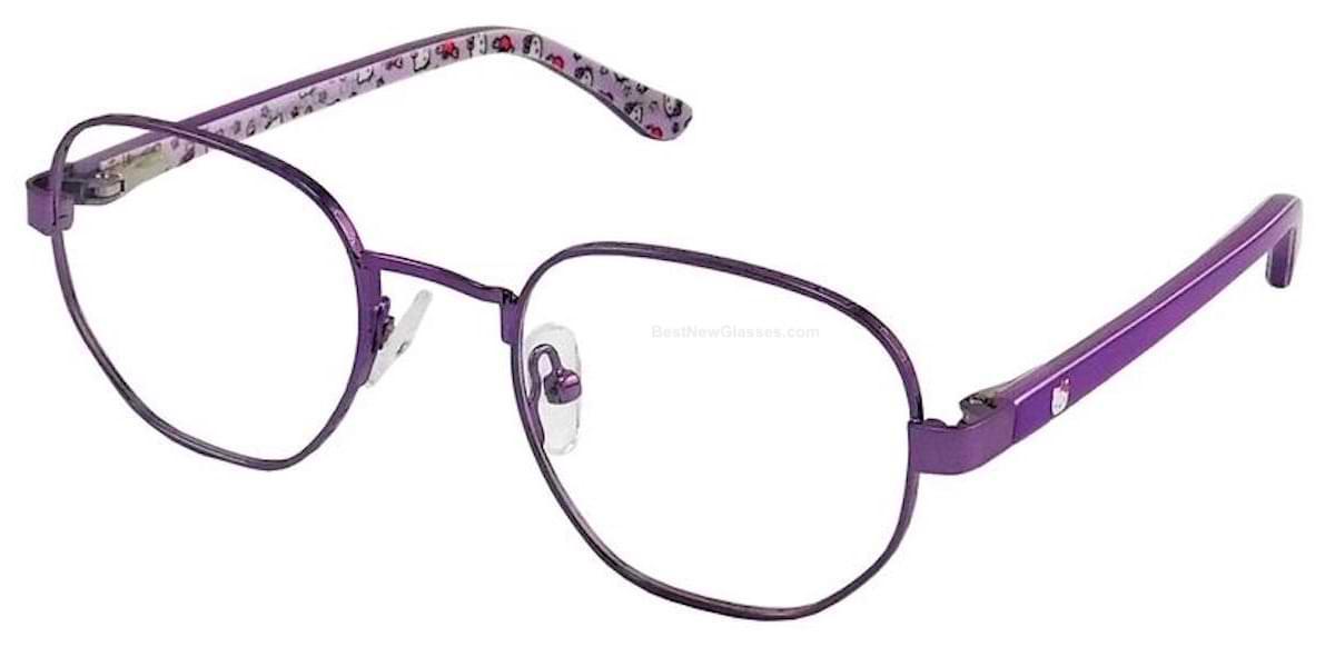 Hello Kitty HK332 2 Shiny Purple