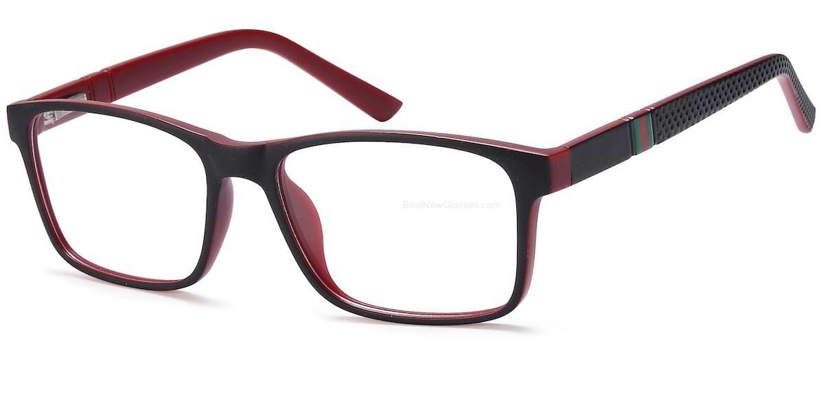 Capri UP308 Black / Red