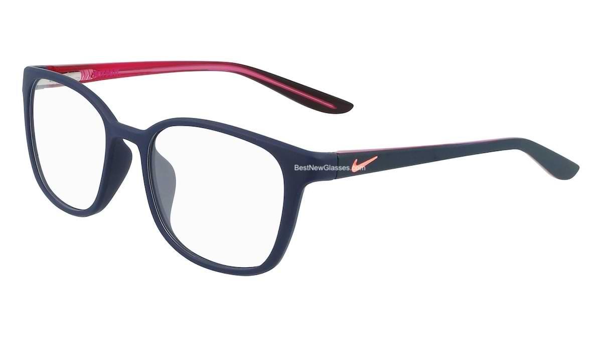 Nike 5027 406 Matte Midnight Navy / Pink