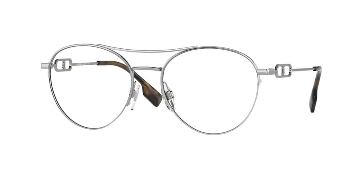 Burberry BE1354 1005 Silver / Black