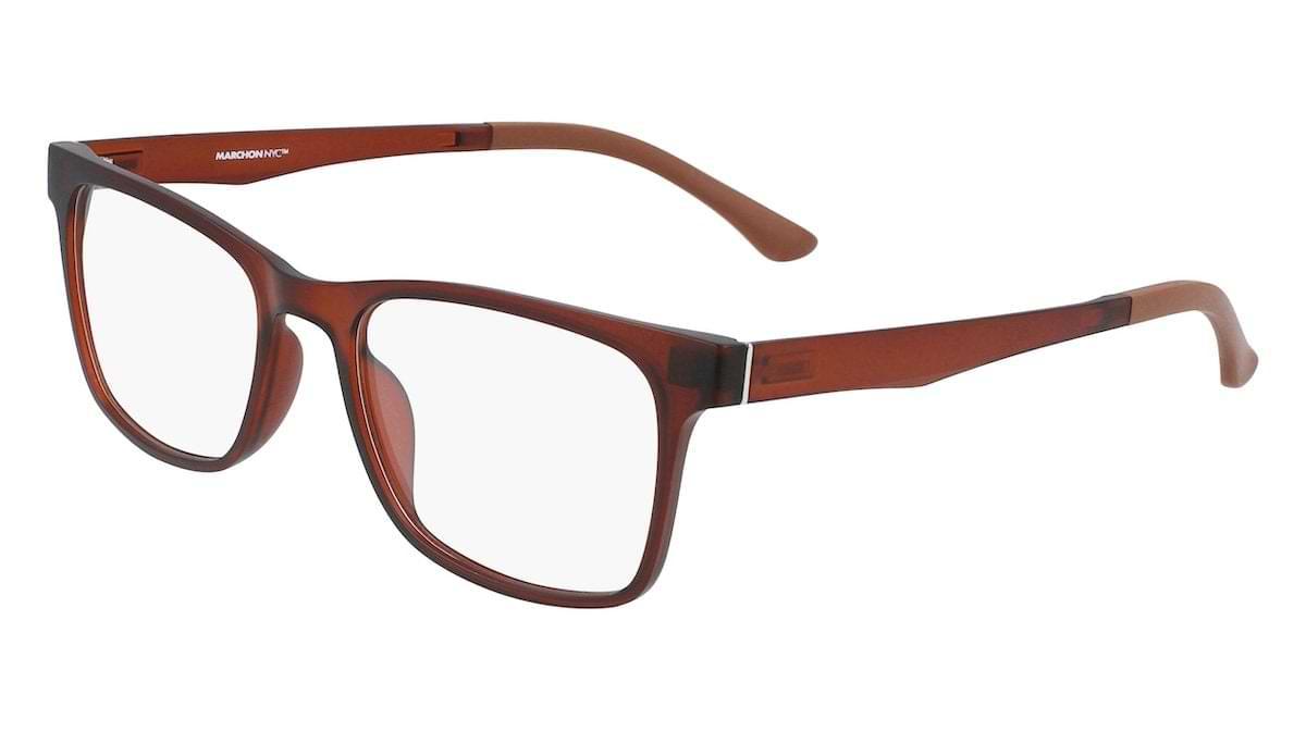 Marchon M-1501 210 Matte Brown