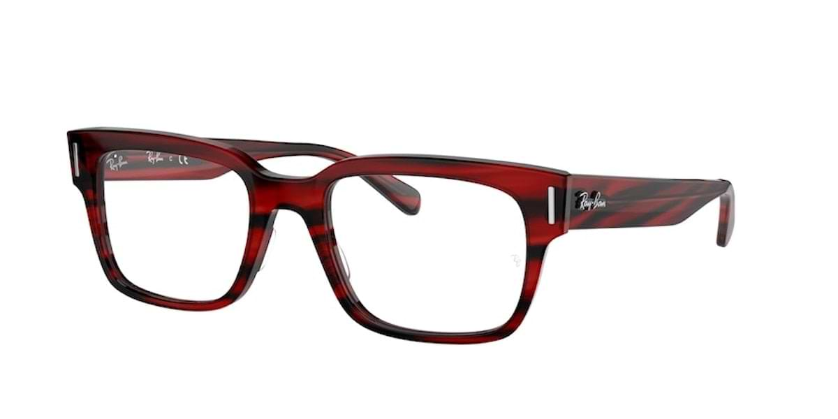 Ray-Ban RX5388 8055 Striped Red