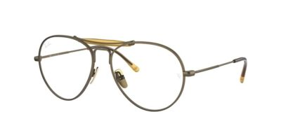 Ray-Ban RX8063V 1222 Demi Gloss Antique Gold