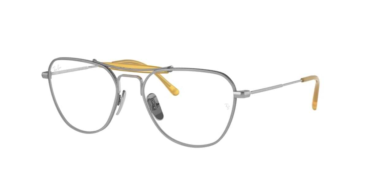 Ray-Ban RX8064V 1220 Brushed Silver