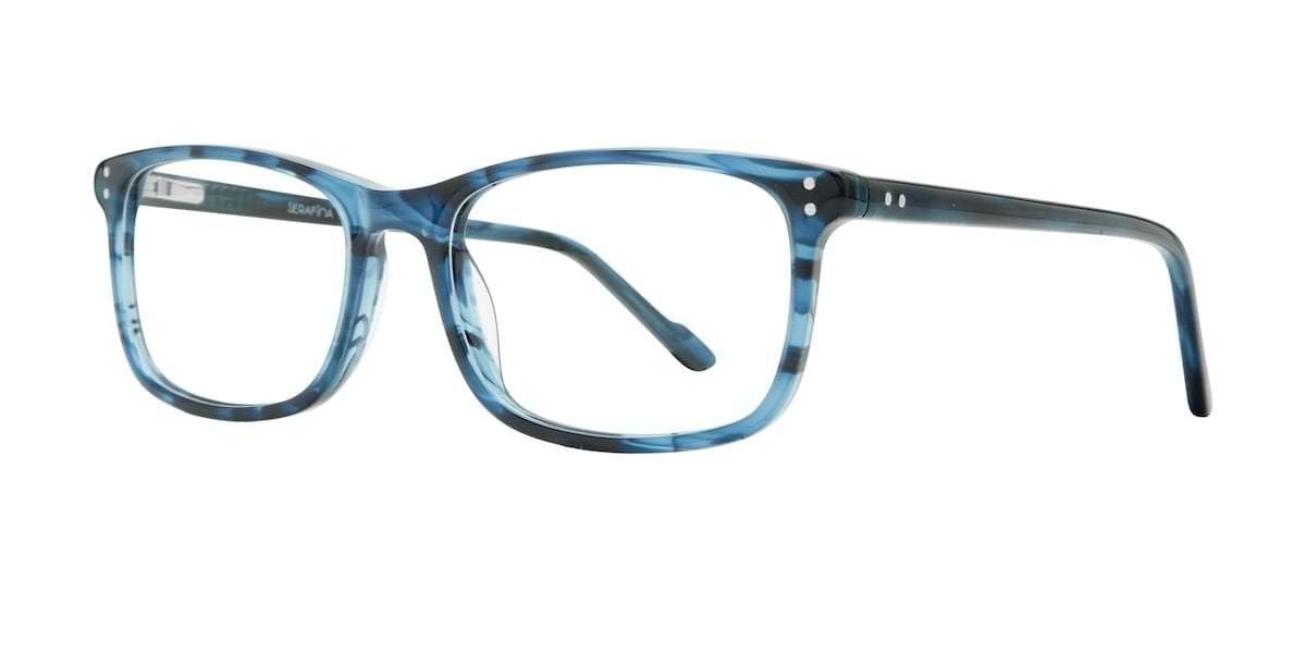 Serafina Eyewear Theo Blue