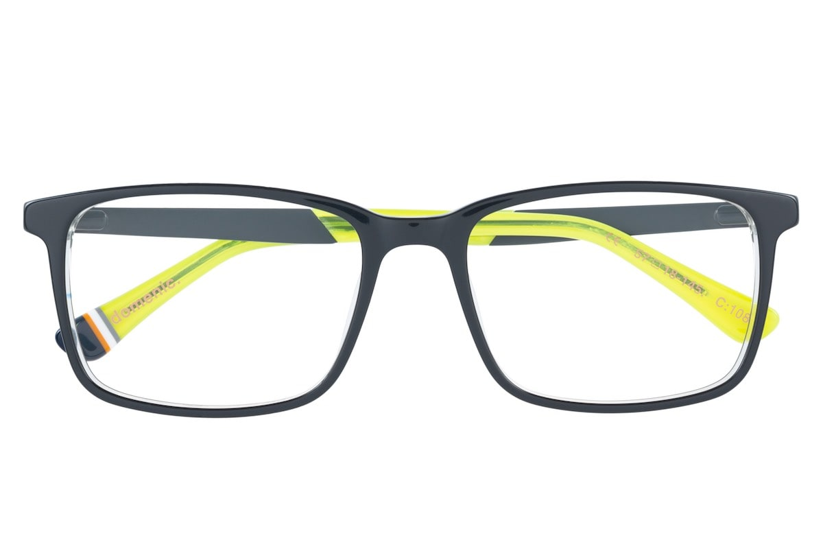Superdry Domenic 108 Grey / Black / Yellow - Front
