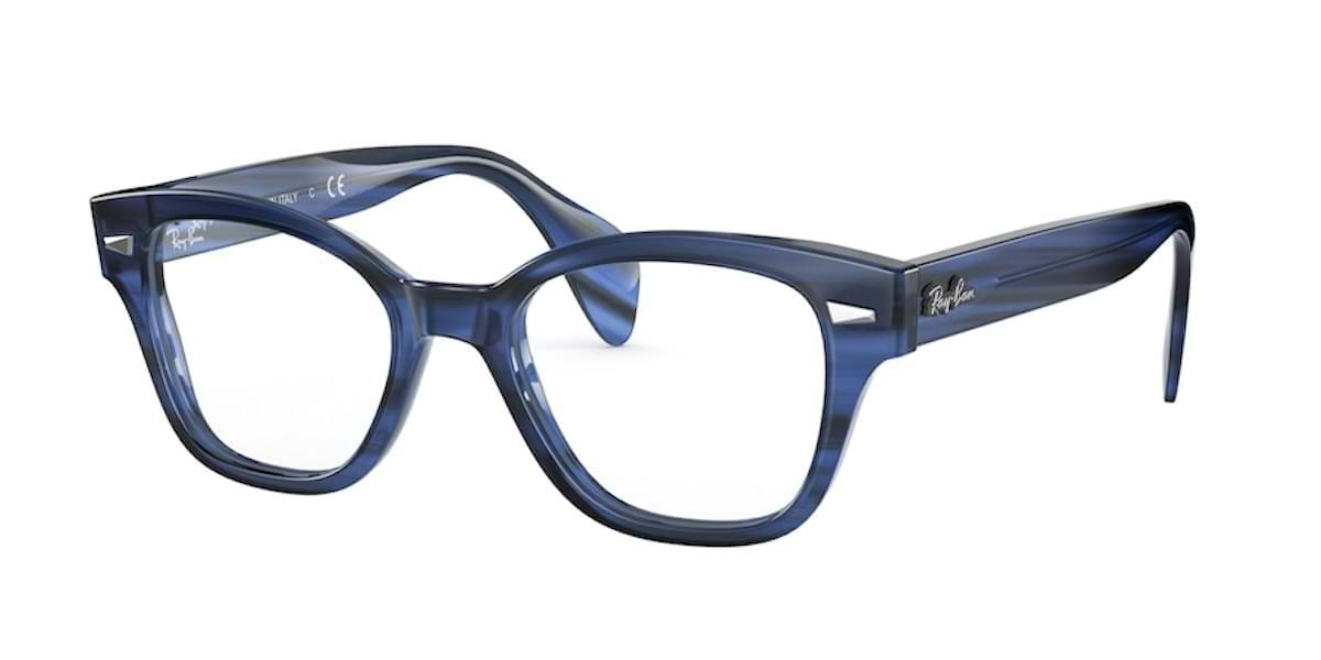 Ray-Ban RX0880 8053 Striped Blue