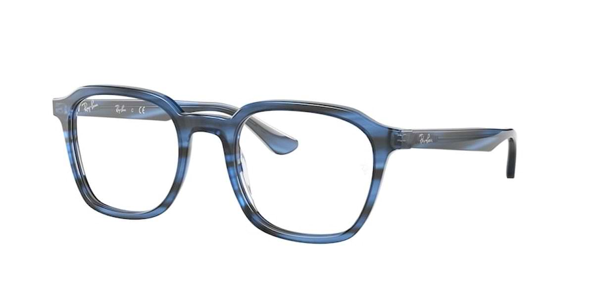 Ray-Ban RX5390 8053 Striped Blue