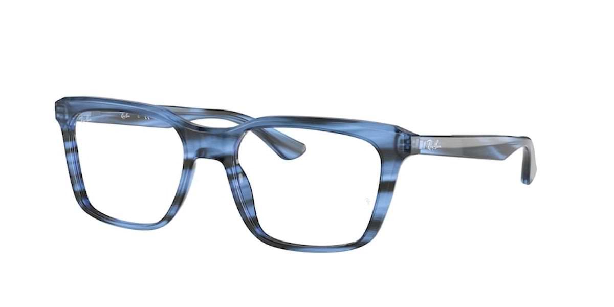 Ray-Ban RX5391 8053 Striped Blue