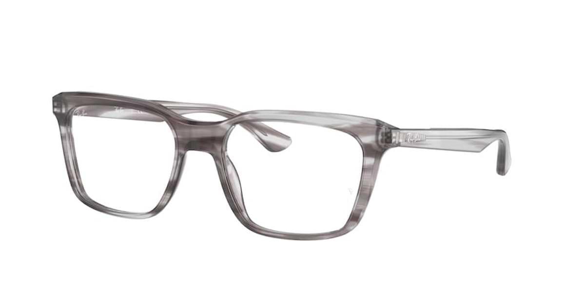 Ray-Ban RX5391 8055 Striped Grey