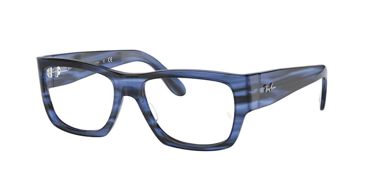 Ray-Ban RX5487 8053 Striped Blue