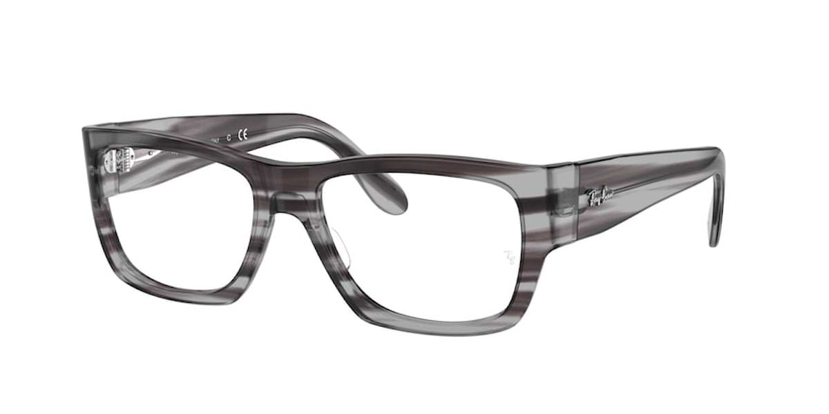 Ray-Ban RX5487 8055 Striped Grey