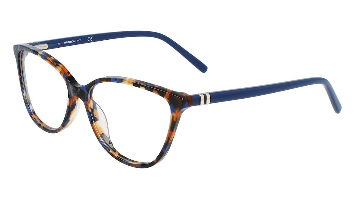 Marchon M-5014 460 Tortoise with Blue