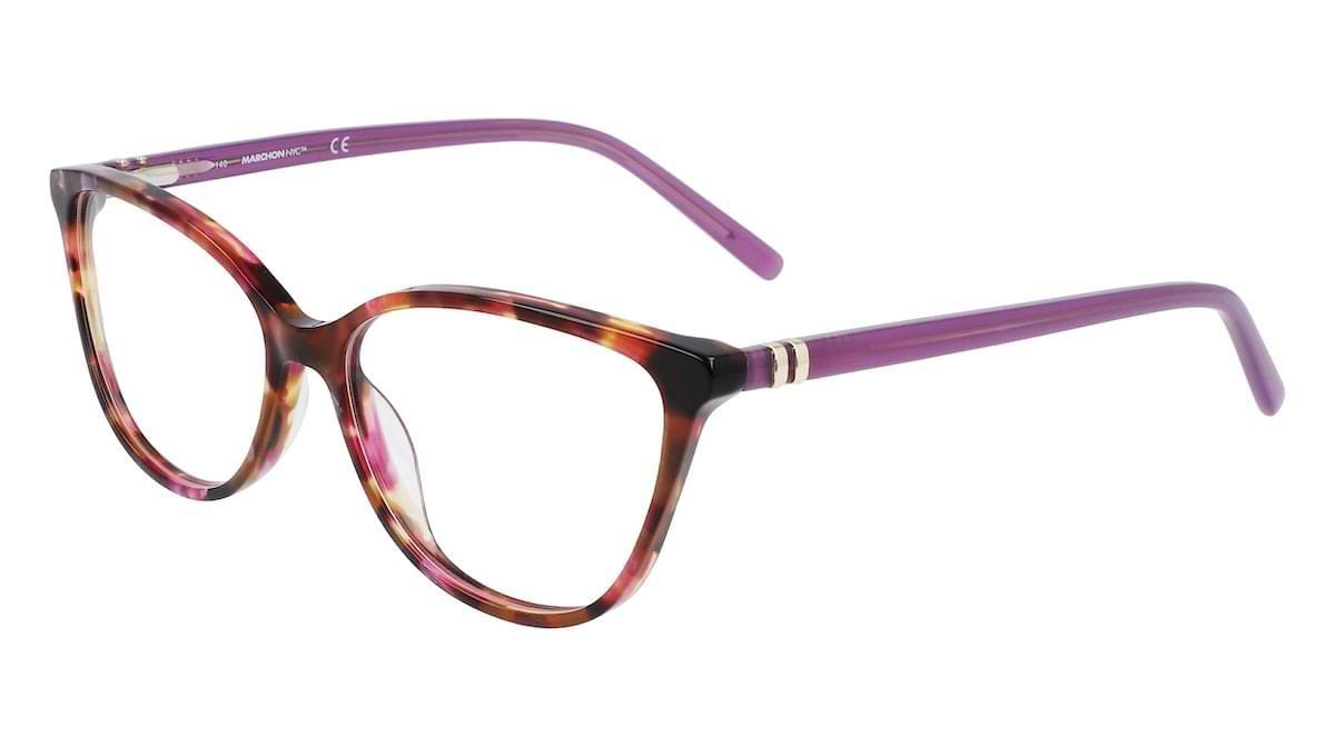 Marchon M-5014 540 Tortoise with Lavender