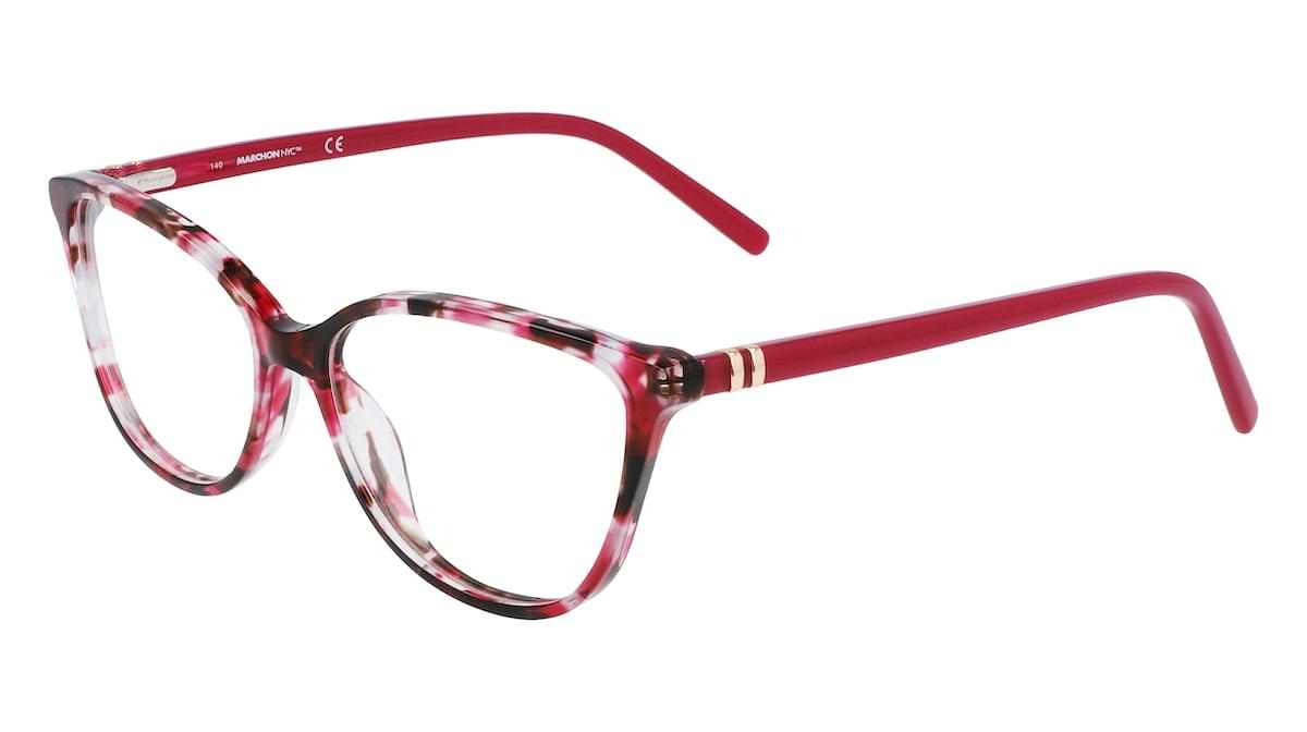 Marchon M-5014 640 Tortoise with Wine